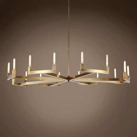 "Beaux 16 Light 72"" Round Chandelier"