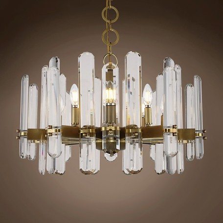 "Paris 10 Light 25"" Chandelier"