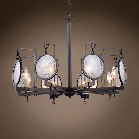 Restoration Revolution Gaslight Lens 8 Light 28 Quot Bronze