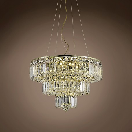"JM Milan 9 Light 20"" Chandelier"