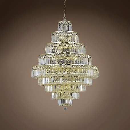 "JM Milan 20 Light 30"" Chandelier"