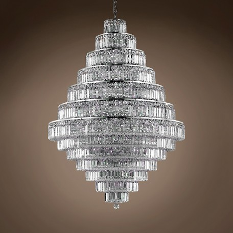 "JM Milan 38 Light 42"" Chandelier"