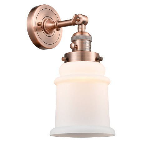 "Innovations Lighting 203SW-AC-G181-LED 1 Light Vintage Dimmable Led Sconce With A ""High-Low-Off"" Switch."