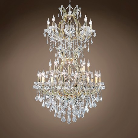 "JM Maria Theresa 34 Light 36"" Chandelier"