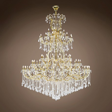"JM Maria Theresa 84 Light 96"" Chandelier"