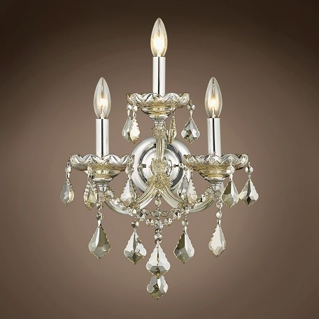 "JM Maria Theresa 3 Light 12"" Wall Sconce"