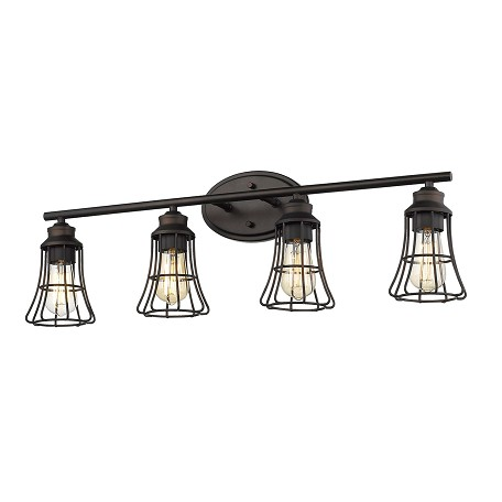 Acclaim Lighting IN41283ORB Piers 4-Light Oil-Rubbed Bronze Vanity