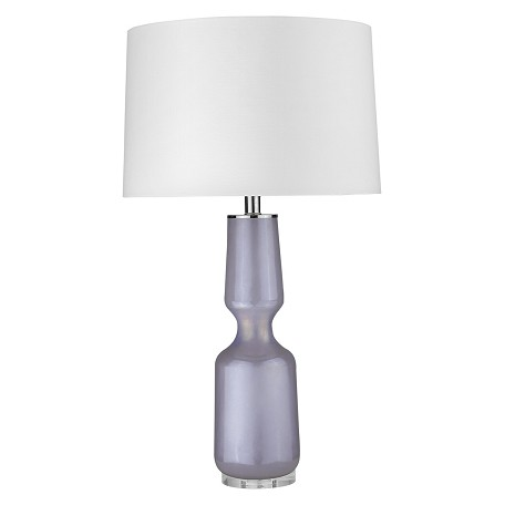 Trend Lighting TT80166 Trend Home 1-Light Polished Nickel Table Lamp