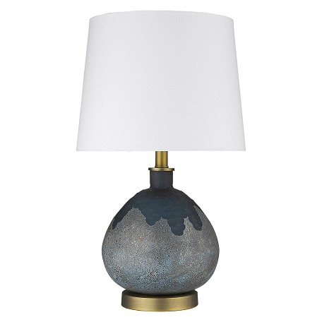 Trend Lighting TT80161 Trend Home 1-Light Brass Table Lamp