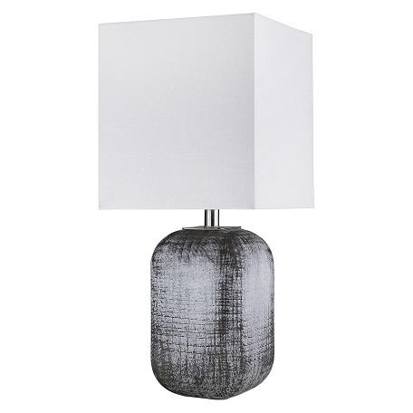 Trend Lighting TT80158 Trend Home 1-Light Polished Nickel Table Lamp