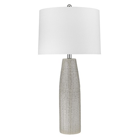 Trend Lighting TT80157 Trend Home 1-Light Polished Nickel Table Lamp
