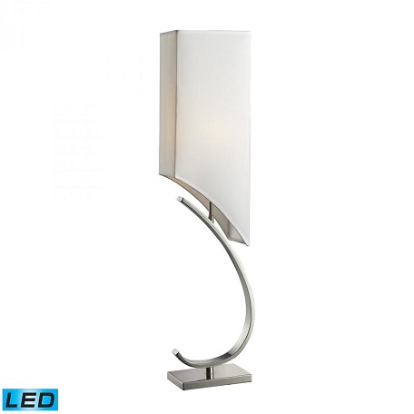 Dimond One Light Polished Nickel Table Lamp