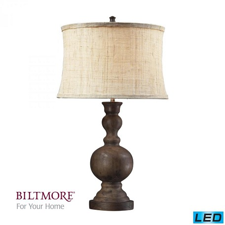 Dimond One Light Dark Oak Table Lamp