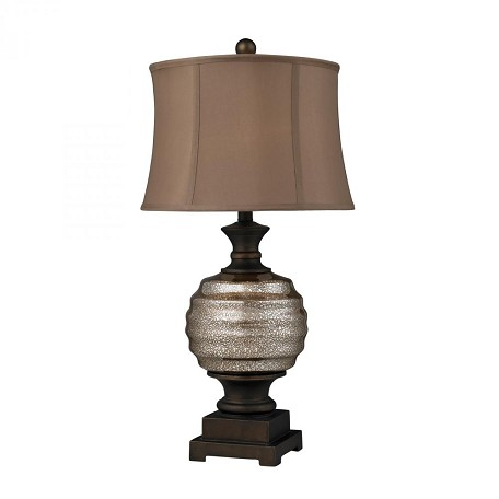Dimond One Light Antique Mercury Glass And Bronze Accents Table Lamp