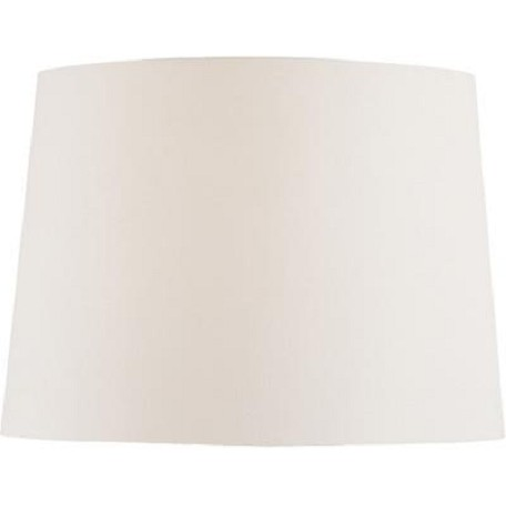 Lite Source Inc. Off White Fabric Shade - 12In.Tx14In.Bx10In.Sl