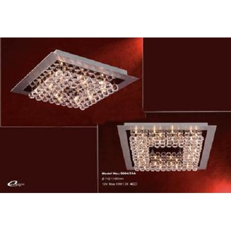 PLC Lighting 24 Light Ceiling Light Petula Collection