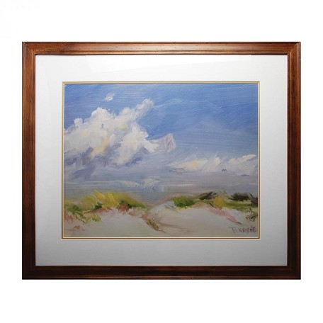 Sterling Industries Clouds Decorative Framed Art Brown Finish