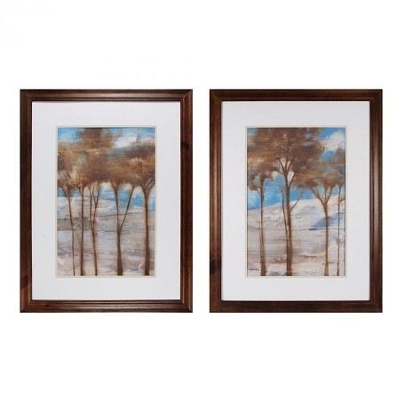 Sterling Industries Near Dusk I And Ii  Decorative Framed Art