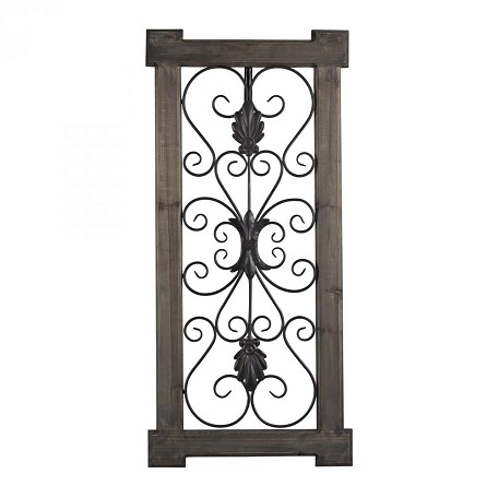Sterling Industries Hatfield-Rectangular Scroll Work Wall Panel