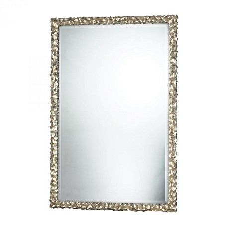 Sterling Industries Emery Hill Mirror In Silver Leaf