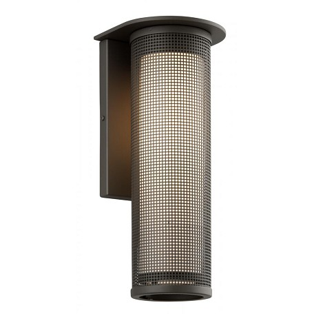 Troy One Light Bronze Outdoor Wall Light