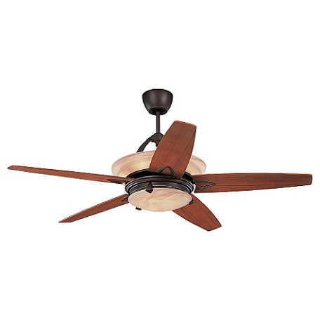 Monte Carlo Eight Light Bronze Ceiling Fan