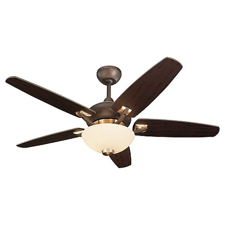 Monte Carlo Two Light Ceiling Fan Roman Amp Iberian Bronze