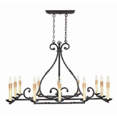 Chandelier - Inspirational Iron Collection - WI6181942