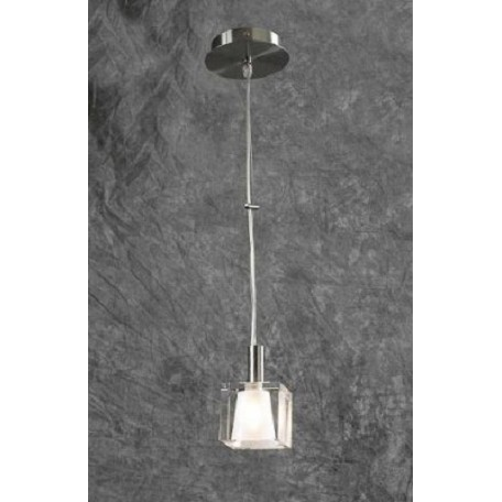 PLC Lighting 1 Light Mini Pendant Ice-I Collection