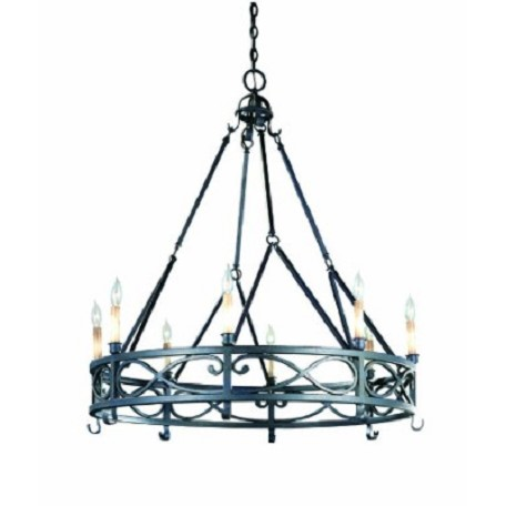 World Imports Eight Light Up Chandelier