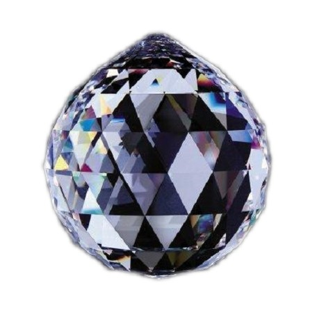 Clear 1.25in Crystal Ball European, 30% lead or Swarovski Spectra Crystal WGL101701-30 SKU# 10106