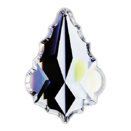 Clear 1.5in. French Cut Prism European, 30% lead or Swarovski Spectra Crystal WGL101911-1.5 SKU# 11031