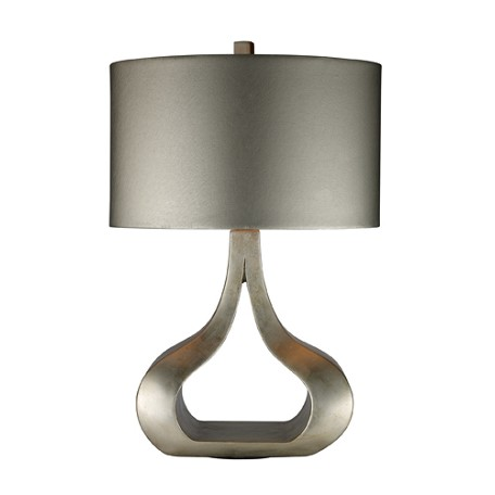 Dimond One Light Silver Leaf Table Lamp