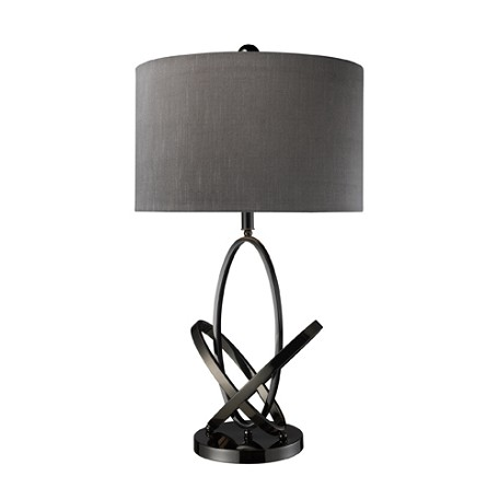 Dimond One Light Black Nickel Table Lamp