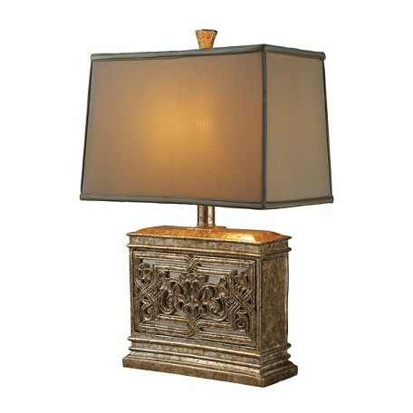 Dimond One Light Courtney Gold Table Lamp