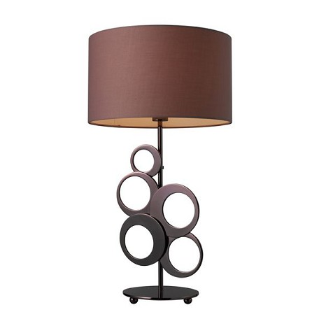 Dimond One Light Chocolate Plating Table Lamp