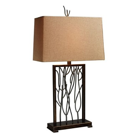 Dimond One Light Aria Bronze And Iron Table Lamp