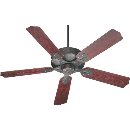 Quorum Toasted Sienna Outdoor Fan