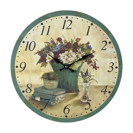 Sterling Industries Bouquet Clock