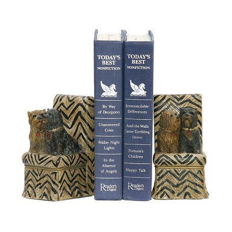 Sterling Industries Pair Millionaire Pet Bookends