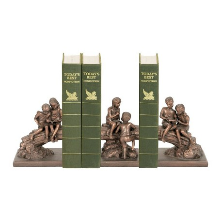 Sterling Industries Set/3 Secret Tree Bookends