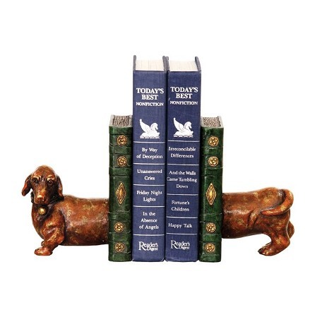 Sterling Industries Pair Peppy Bookends