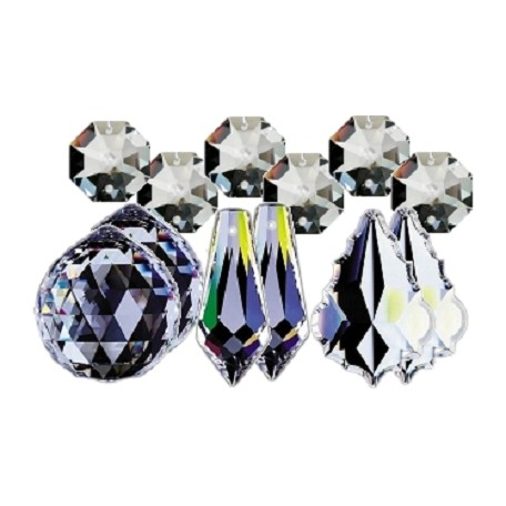 30% Lead Crystal Sun Catcher Gift Set